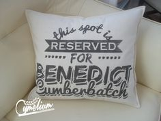 This spot is reserved for Benedict Cumberbatch von Cymelium