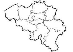 kaart belgie - Google zoeken