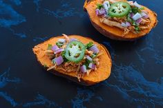 Barbecue Chicken Baked Sweet Potatoes Recipe | BeachbodyBlog.com