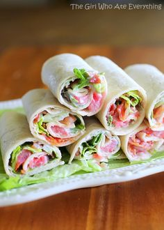 Mini BLT Wraps | OMG I Love To Cook
