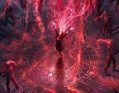 "Check out new work on my portfolio: ""Concept Art for ""Avengers: Age of . - Check out new work on my portfolio: ""Concept Art for ""Avengers: Age of … – - Scarlet Witch Marvel, Age Of Ultron, Marvel Dc Comics, Marvel Heroes, Ms Marvel, Captain Marvel, Wanda Marvel, Elizabeth Olsen Scarlet Witch, Scarlet Witch"