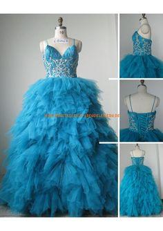 Glamourous A-linie Extravagante Brautkleider 2013 aus Softnetz mit Applikation