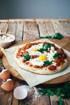 Shakshuka Pizza | my name is yeh