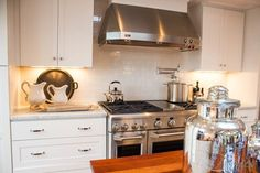 Stainless and White in the HGTV Dream Home Kitchen