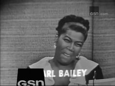 What's My Line? - Pearl Bailey; PANEL: Allen Ludden, Betty White (Aug 28...