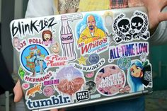 The Technology Report. Thinking Of Getting A Laptop? A good quality laptop computer will give you all of the mobile computing power you need, and is unmatched by lesser devices. With a great laptop, you will Mac Stickers, Cute Laptop Stickers, Bubble Stickers, Macbook Stickers, Craft Stickers, Macbook Decal, Tumblr Quality, Vsco, Sticker Bomb