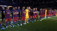 The team #FCBarcelona #Football #FCB #FansFCB #Gamper