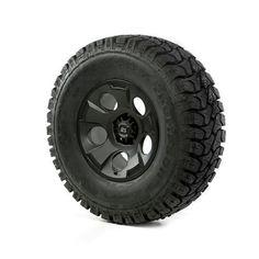 17 Inch Wheel & Tire Package Drakon Black Satin 35x12.50x17 ATZ x 15391.26