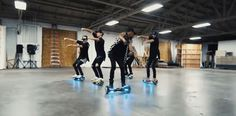 "These Guys Hoverboard-Dancing to Justin Bieber's ""What Do You Mean?"" Are Next Level"