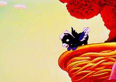 "Little Pegasus learns to fly.  Walt Disney's ""Fantasia"" (1940)"