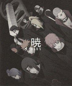 akatsuki, naruto, and anime kép Otaku Anime, Anime Naruto, Naruto Shippuden Anime, Naruto Art, Manga Anime, Pein Naruto, Sasori And Deidara, Madara Uchiha, Shikamaru