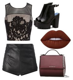 """""""Night out"""" by ettadance56 ❤ liked on Polyvore featuring Coast, La Perla, Lime Crime and Givenchy"""