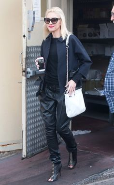 GWEN STEFANI The Voice coach shows off her signature style while stepping out in Los Angeles.