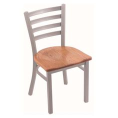 Holland Bar Stool Jackie Dining Chair with Wood Seat
