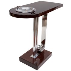 Art Deco Ashtray Side Table