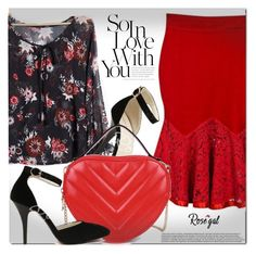 """""""Rosegal"""" by cherry-bh ❤ liked on Polyvore"""