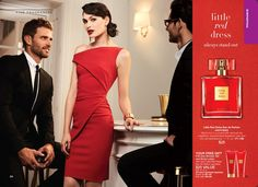 Avon's newest fragrance with a scent that is chic and refined. It is perfect for special occasions. Stand out in a crowd with sensual red raspberry, sophisticated Bulgarian rose and rich red sandalwood. Only $25 and includes #FREE Full-Size Shower Gel and Body Lotion with Purchase! #Avon #AvonRep  https://www.avon.com/product/little-red-dress-eau-de-parfum-57490?rep=maureenmayer