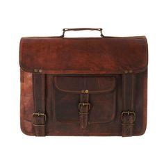 Large Leather Satchel Backpack by Vida Vida <3 --- Fido