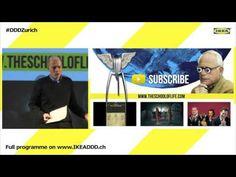 """Alain de Botton: """"Why design matters"""" at the Democratic Design Days in Zurich 2016 #DDDZurich - YouTube"""