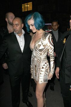 Katy Perry is fabulous in France