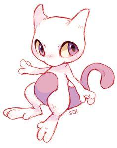 Mewtwo and mew by sharkie19 on deviantart pokemon - Pokemon miu two ...