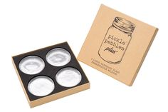 Pickle Pebbles PLUS - Glass Fermentation Weights for Wide Mouth Mason Jars by Masontops