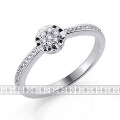 Gems diamonds - Zásnubní prsten s diamantem 857e2a1a657