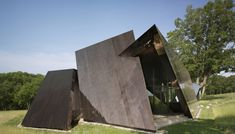 18.36.54 - Libeskind How To Make Ribbon, New Builds, Cladding, Living Spaces, 18th, Landscape, Studio, Architecture, Architectural Firm