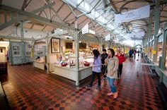 Die Markthalle Oulun #Kauppahalli ist mehr als 100 Jahre alt und lädt zum Einkaufen ein! #Oulu