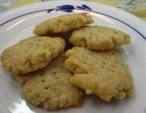 Cheese Crackers with flour