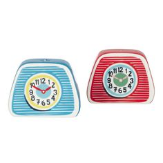 Take it with a pinch of salt... | Clocks Salt & Pepper Shakers | CathKidston