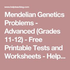 Campbell biology chapters 1 21 flashcards easy notecards science mendelian genetics problems advanced grades 11 12 free printable tests and fandeluxe Images