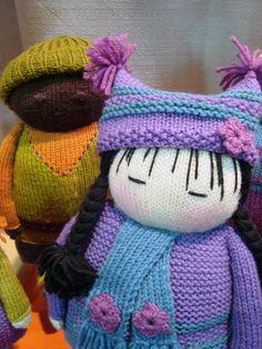 Knitted Dolls (1) by rainydaynyc, via Flickr