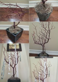 DIY Ideas: How to Use Tree Branches for Home Decor, How to Make Tree Branch Jewelry Holder
