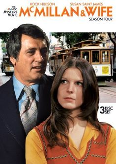 McMillan and Wife - Rock Hudson and Susan Saint James - casal Mcmillan Beatles, Mejores Series Tv, Nostalgia, Rock Hudson, Baby Boomer, Old Shows, Vintage Tv, Vintage Wife, Great Tv Shows