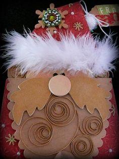 santa money or gift card holder