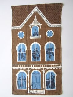 TAMMIS KEEFE Tea Towel house from Neatokeen on Etsy