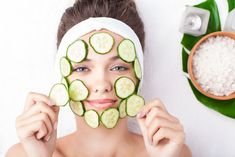 The Secret To Surviving Military Service: Moisturizer, Foam Cleanser, Cucumber Face Mask - Glowpink Cucumber For Skin, Cucumber Face Mask, Cucumber Beauty, Dull Skin, Tan Skin, Skin Tone, Cucumber Benefits, Homemade Mask, Natural Beauty Tips