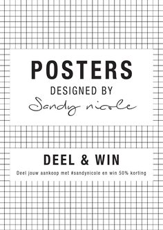 Catalogus Posters September 2015  Posters designed by Sandy Nicole