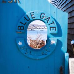 "Rockport's Bearskin Neck, the ""Blue Gate"""