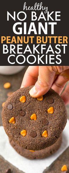 ... Bake GIANT JUMBO Peanut Butter Breakfast Cookies- It's just like a