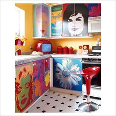 pop art kitchen