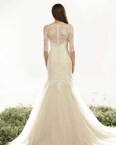 Veluz Reyes 2015 RTW-SAMANTHA-long sleeve beaded illusion back mermaid gown-http://eabridal.com