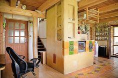 Jedna pec na drevo vykúri päťizbový dom, spotreba je tretinová v porovnaní s inými domami. | Aktuality.sk