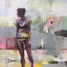 Figure Painting, Impressionism, Gabriel, Rock, Abstract, Instagram, Design, Scissors, Mixed Media