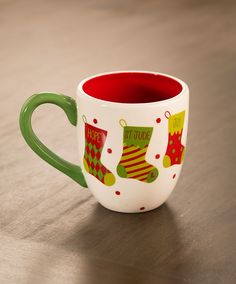 Sip your hot cocoa in this cute St. Jude Christmas mug! This would make a great gift for teachers, too!   Only $15, and 100% of proceeds, after all related expenses, benefit St. Jude.