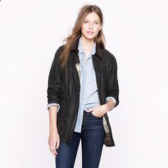 A fabulous classic- Barbour Beadnell jacket for all types of travel mavens...