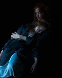 Innocence, beauty, melancholy - Julia Hetta Photography.