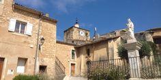 les Santolines en Provence -  Piolenc, derrière l'église