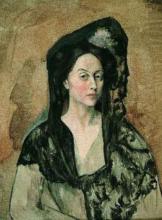 Picasso | Retrato de Benedetta Canals (1905)